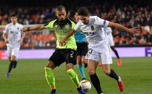 Valencia-Celtic, en directo