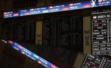 El Ibex-35 cierra en máximo anuales y casi en los 9.200 puntos