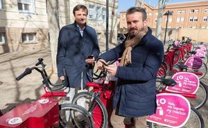 La app 'Logroño.es' incorporará el nuevo módulo para el uso y gestión de las bicicletas públicas