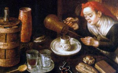 La mancerina, el chocolate y el virrey