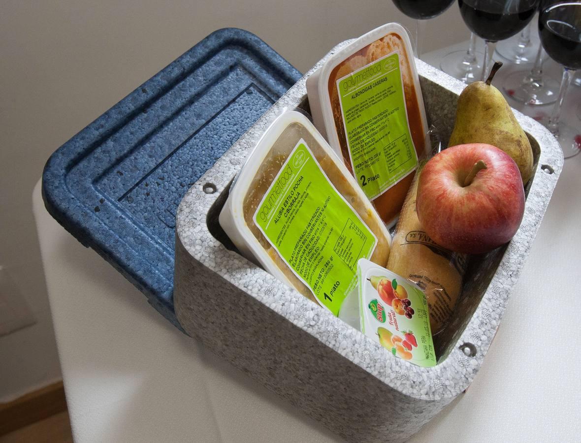 El servicio de comida a domicilio pasa de 45 a 129 usuarios tras el cambio de empresa