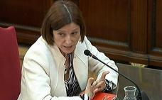 Forcadell admite que utilizó la Presidencia del Parlament para legitimar el 'procés'