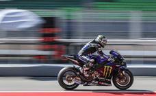 Los españoles sonríen tras la última prueba de MotoGP pre Mundial