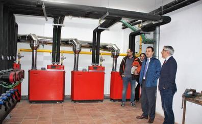 El IES 'Don García' de Nájera mejora su calefacción gracias a los fondos Feder