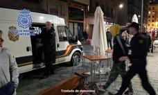 Seis detenidos, cuatro de ellos menores, por la 'okupación' de la vivienda de Saturnino Ulargui