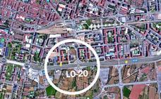 Cinco heridos en una colisión múltiple en la circunvalación de Logroño