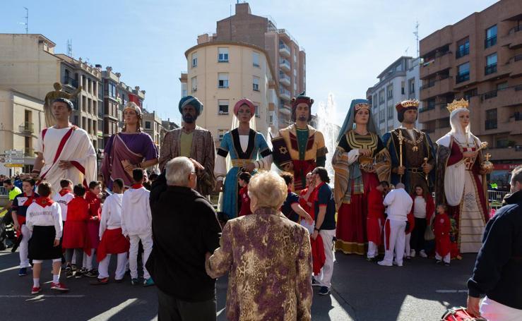 Arrancan las fiestas en Calahorra en honor a los Santos Mártires Emeterio y Celedonio