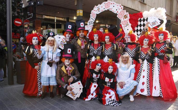 Mucho público en el desfile de Carnaval de Arnedo