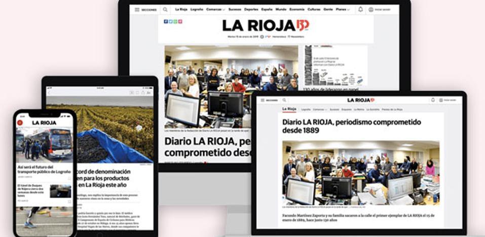 Una nueva era en internet para Diario LA RIOJA: acceso ilimitado y ventajas exclusivas