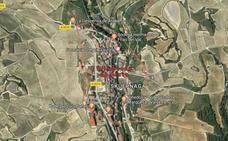Localizan el cadáver de un joven de 19 años en un incendio forestal en Villabuena de Álava