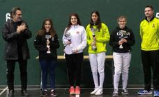 África Barragán consigue medalla al terminar entre las ocho mejores espadas en el Torneo Ciudad de San Sebastián