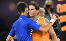 Nadal y Djokovic, camino parejo hasta la tierra