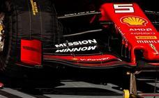 Ferrari quitará el logo de 'Mission Winnow' en el GP de Australia