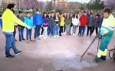 Campaña con los escolares para mejorar la limpieza de Nájera