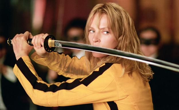Uma Thurman en 'Kill Bill'.