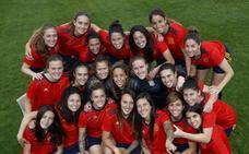 La selección femenina estrena equipación para el Mundial