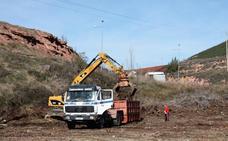 Los restos de la poda de Nájera ya son compost
