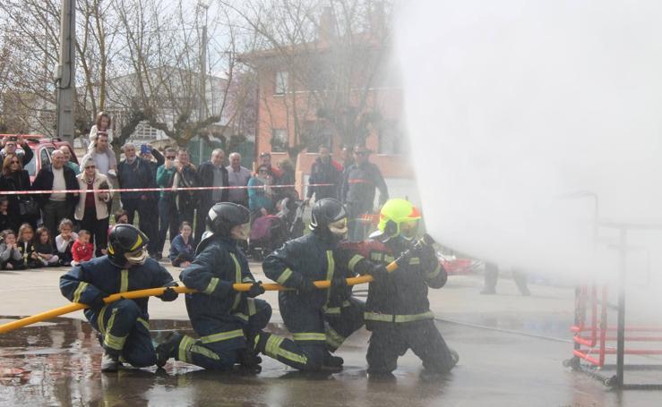 Los bomberos de Haro celebran San Juan de Dios