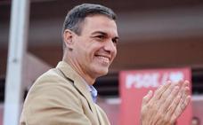 Sánchez: «Las marchas del 8-M son el hoy y el mañana, la de Colón es el ayer»