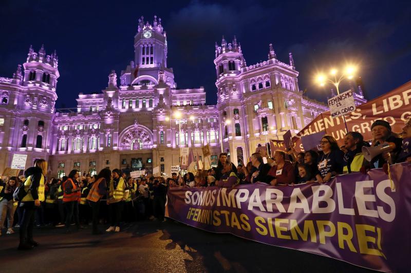 Bulos antifeministas y la manifestación contra el 8M
