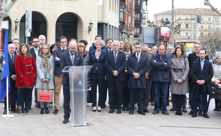 Homenaje a las víctimas del terrorismo en Logroño