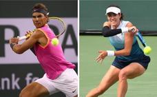 Debut soñado de Nadal y victoria de Muguruza sobre Serena Williams