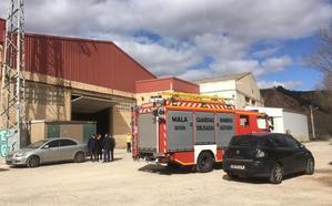 Fallece un trabajador asfixiado en una empresa de Murillo