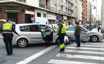 Accidente entre Somosierra y Menéndez Pelayo