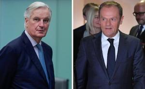 Barnier y Tusk subrayan que «la UE ha hecho todo lo posible, ya no podemos hacer más»