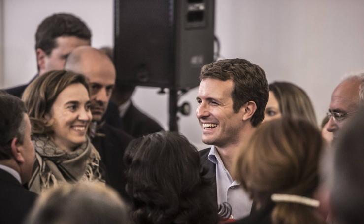 Casado presenta en Logroño a los candidatos para las alcaldías de las cabeceras de comarca