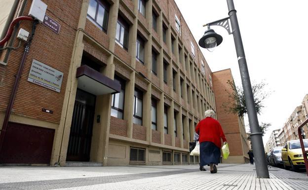 El centro de Jesuitas en Logroño. /Justo Rodriguez