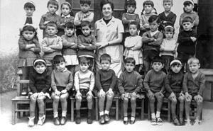 La Retina: escolares de Grávalos en 1952