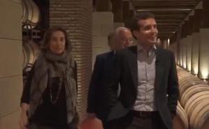 Vídeo: Pablo Casado, en Bodegas Riojanas