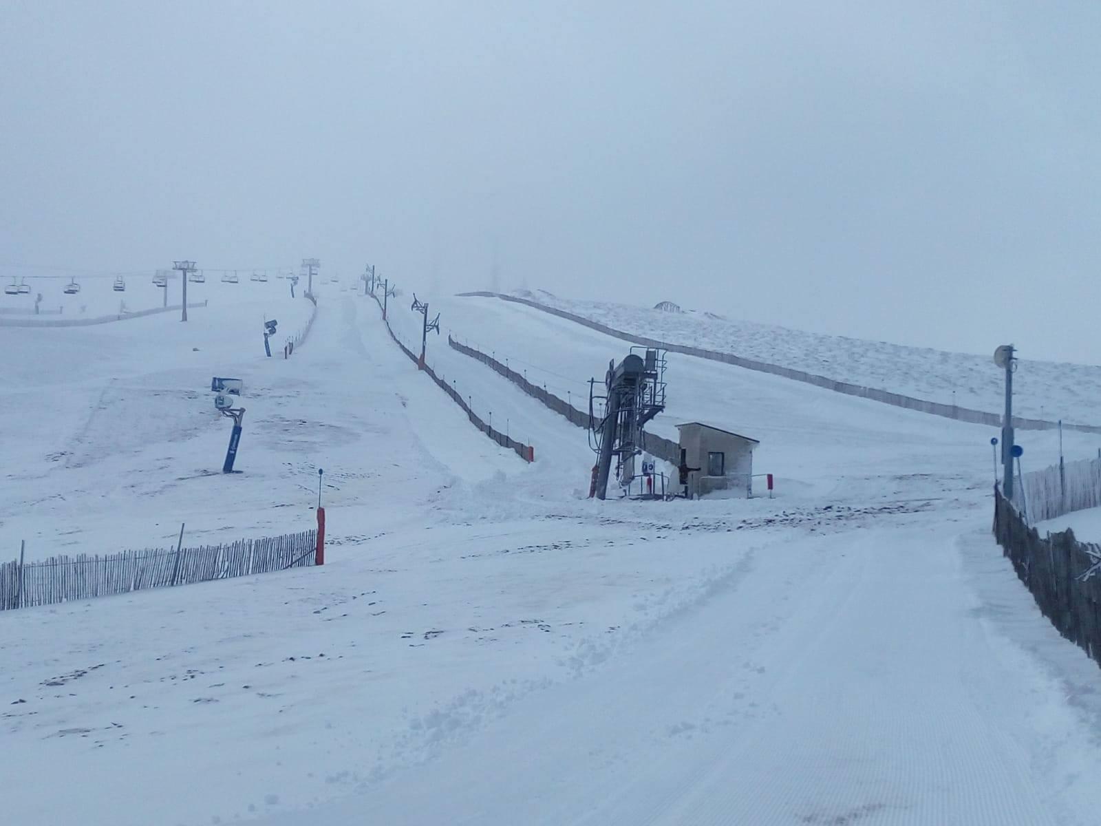 El crudo invierno de Manzaneda