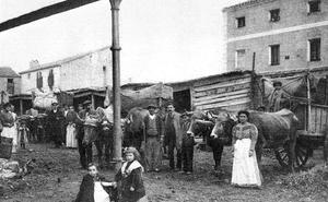 La Retina: descargando pimientos en Calahorra