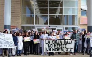 El Hospital de Calahorra alerta de sus dificultades para captar especialistas