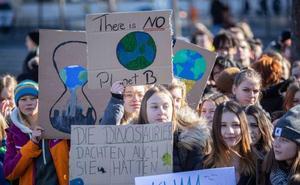 Jovenes de Logroño se movilizan el 15-M para secundar la huelga mundial por el clima