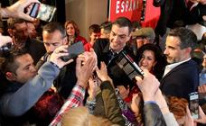 Sánchez, en Logroño, para mostrar su apoyo a los candidatos socialistas riojanos