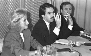 La Retina: Aznar, en La Rioja en 1989