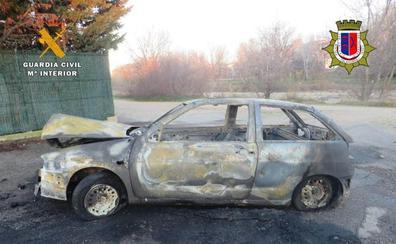 Detenido un grupo de jóvenes que robaba vehículos en Calahorra, se divertía con ellos y los quemaba