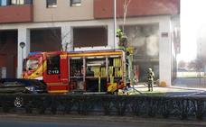 Incendio en el 'kebab' de Los Lirios