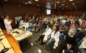 El aula de pacientes del CiBIR, dedicada a la apnea obstructiva en Día del Sueño
