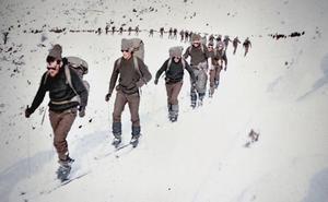 La Retina: soldados en prácticas en Ezcaray