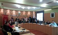 Alumnos de intercambio en el IES Villegas