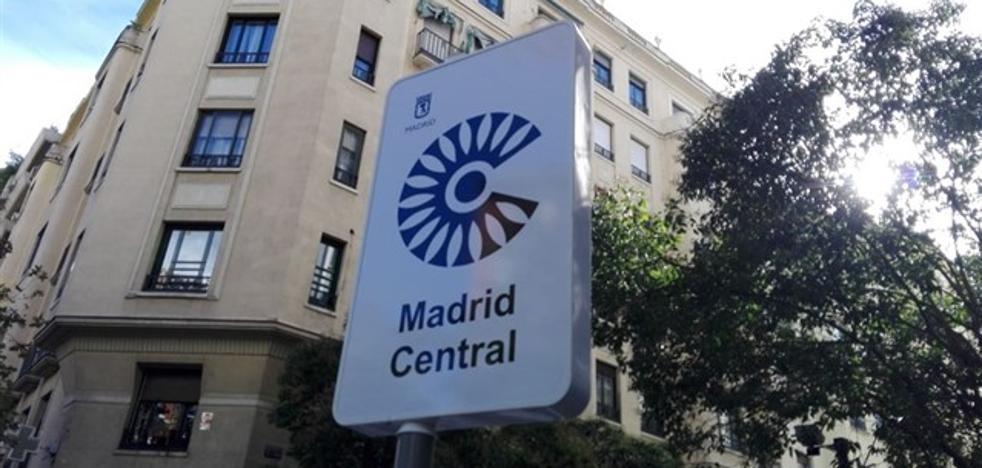 Madrid Central multa desde este sábado a los coches sin permiso