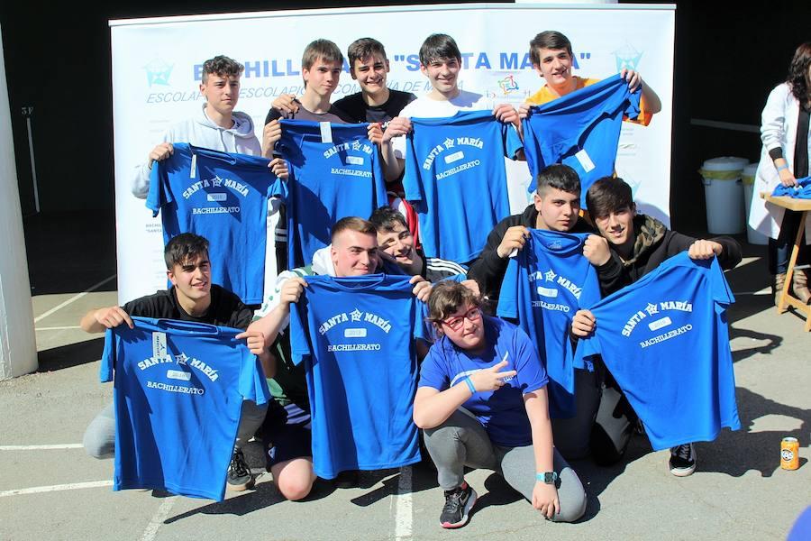 Encuentro deportivo en Marianistas
