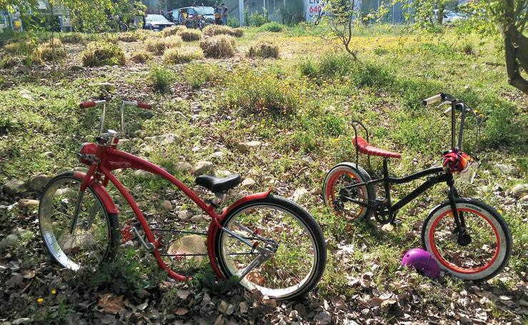 Encuentro de bicis customizadas en Logroño