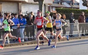 Paula Sanz bate el récord de La Rioja de 10 Km.