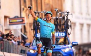 Fuglsang gana la quinta etapa