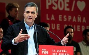 Sánchez renueva la lista europea del PSOE y deja fuera a José Blanco y Elena Valenciano